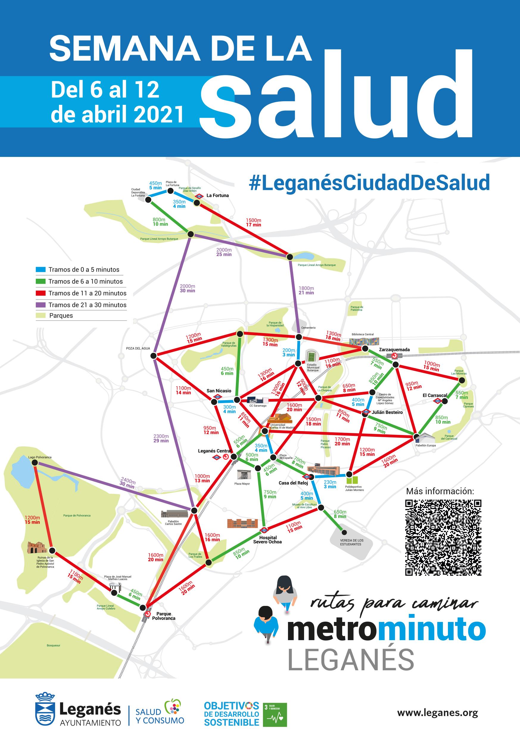 El Ayuntamiento de Leganés pondrá en valor el esfuerzo ciudadano en los momentos más duros de la pandemia durante la XII Semana de la Salud