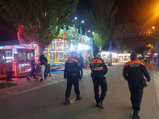 Leganés celebra desde este viernes las Fiestas San Nicasio con un amplio dispositivo de seguridad en el Recinto Ferial y calles de la ciudad